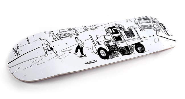 Behind The Graphics with Cosme - Oyola Street Cleaner graphic