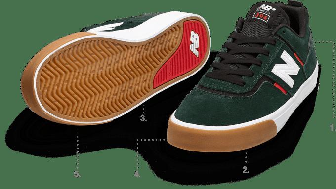 Jamie Foy New Balance Numeric 306 skate shoe