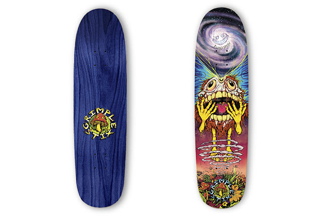 10 decks for August: Anti Hero x Grimple Stix Evan Smith