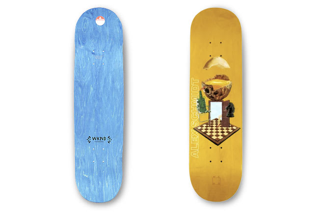10 decks for August: WKND Sunny Side of Schmidt.