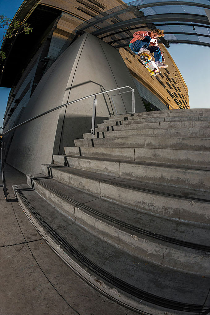 The Sebo Walker Interview: Nollie Heel.