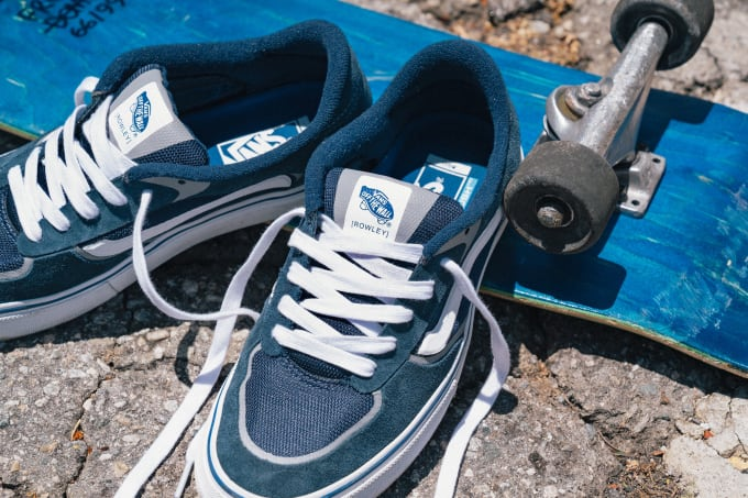 2. Vans Rowley RapidWeld Pro skateboard shoe. Vans classics continue with the Geoff Rowley Pro model shoe seeing more evolution from Vans.