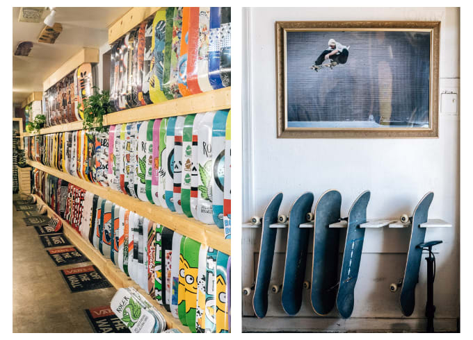6. No Comply Store, Austin, Texas. Austin's leading skateboard shop owned and ran by Elias Bingham.