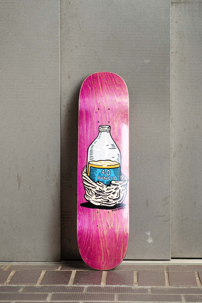 4. Giveaway Polar Skate Co. Nick Boserio Forties 8