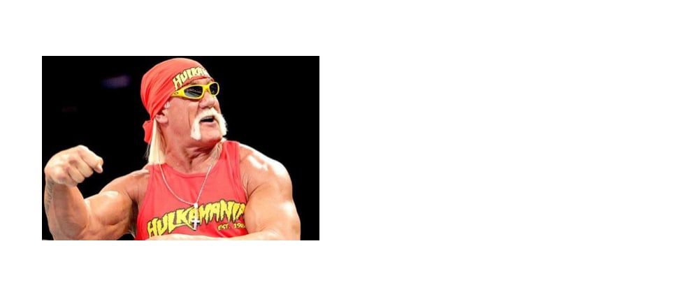 The Fucking Awesome logo was playfully lifted from Hulk Hogan's weird brand of Hulkamania.