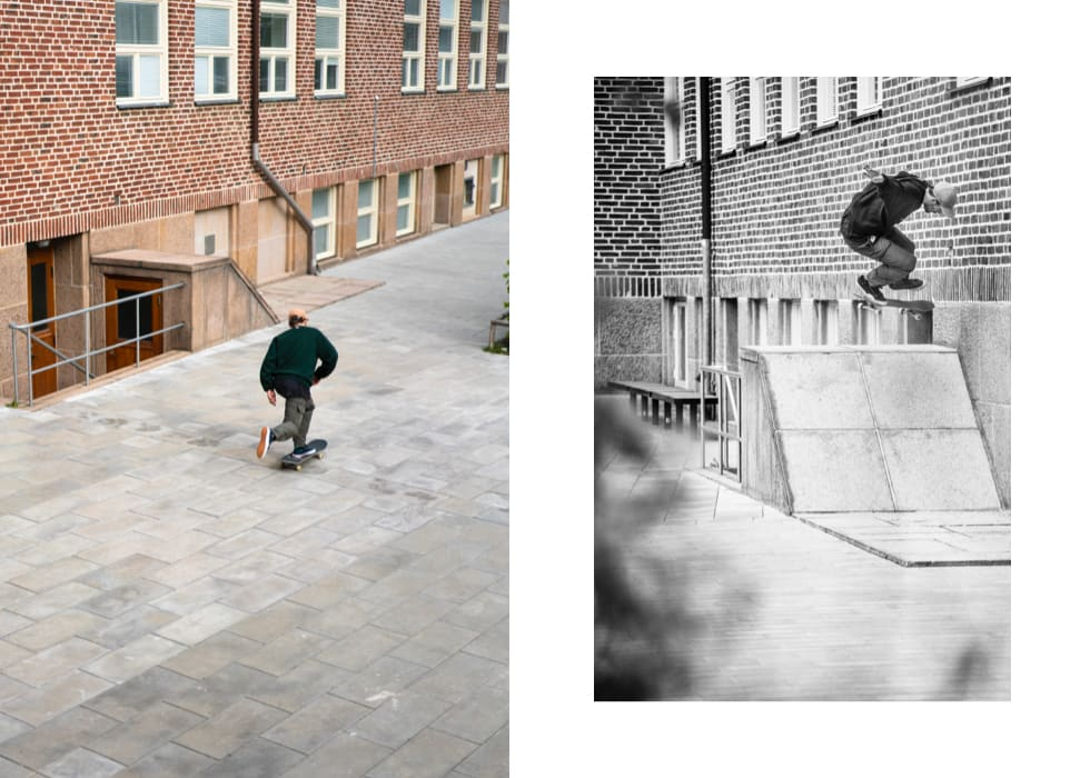 Jacob Ovgren, backside flip. Photo: Nils