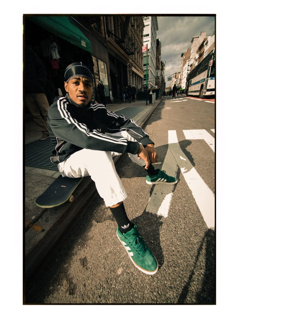 Tyshawn Jones Interview On His New Pro Shoe - adidas Skateboarding sat street portrait