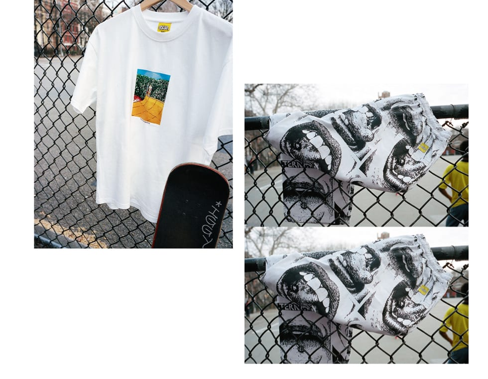 Polar Skate Co x Iggy NYC - Boys on a Ramp T-Shirt and Youth Polar Skate Co Surf Pants