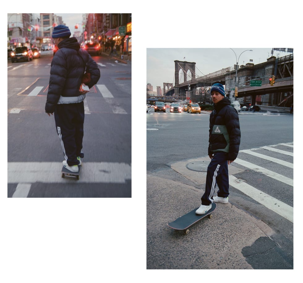 6. Heitor da Silva wearing the adidas Skateboarding Liberty Cup in NYC. adidas EE6104