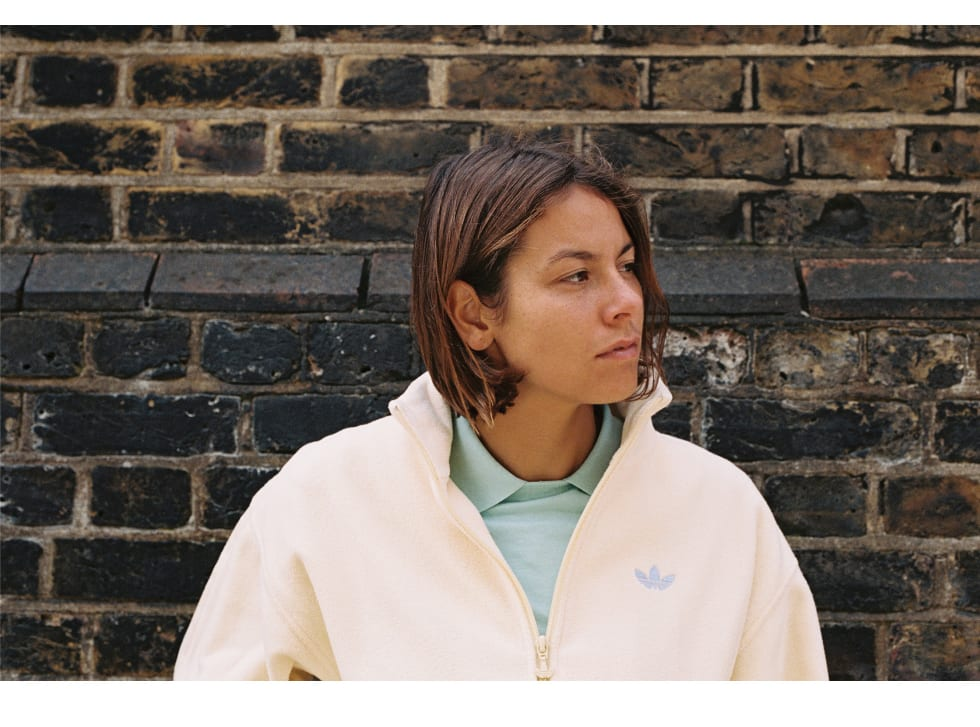 1. Nora Vasconcellos in London for her new unisex adidas skateboarding clothing collection. Nora is represented by adidas, Welcome Skateboards, Bronson Bearings, Krux Trucks and OJ Wheels.