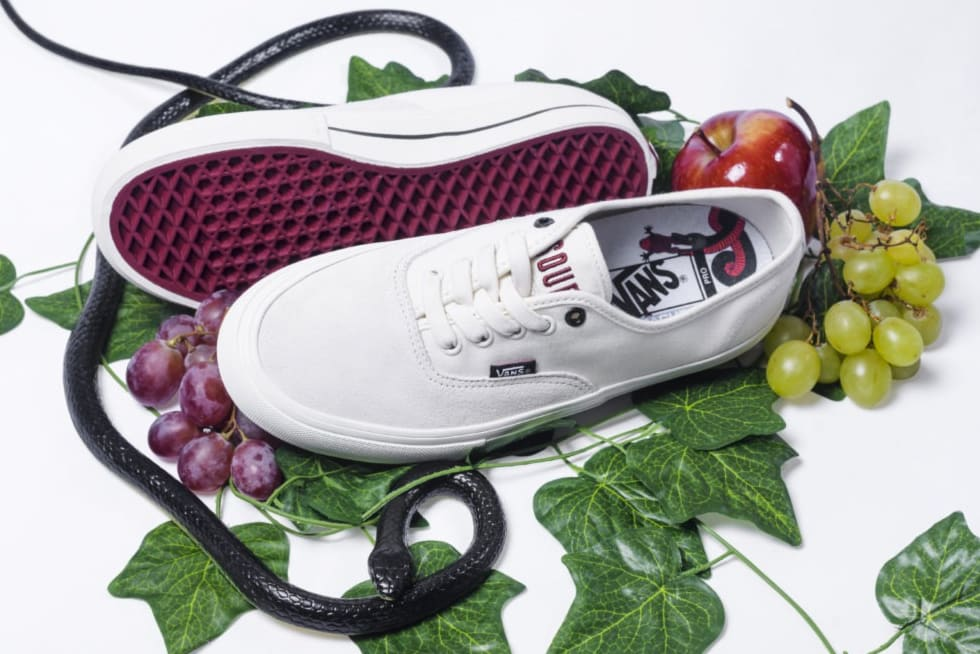 3. Sour grapes with the Vans Authentic Pro