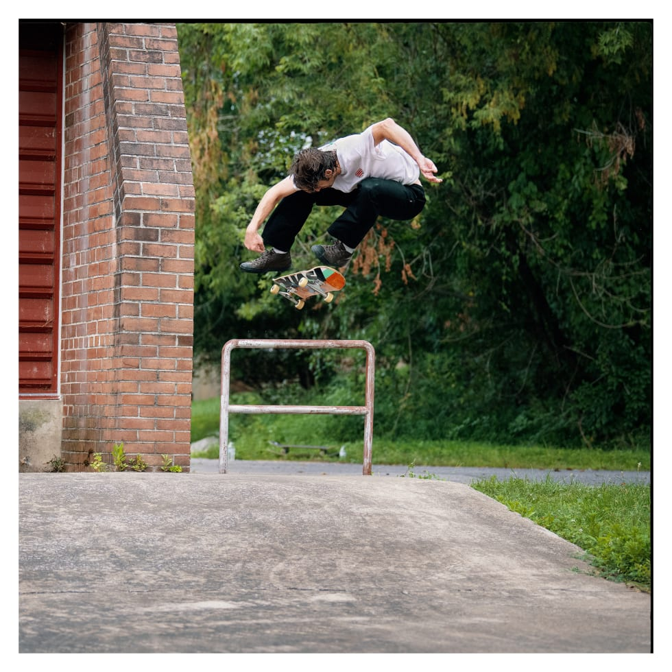 1. The Jack Purcell from Converse CONS reinterpreted by team rider Jake Johnson.