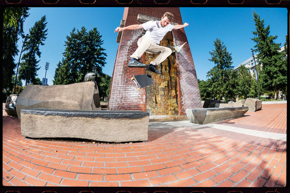 Silas Baxter Neal adidas Skateboarding Campus ADV. Backside Flip to Lipslide