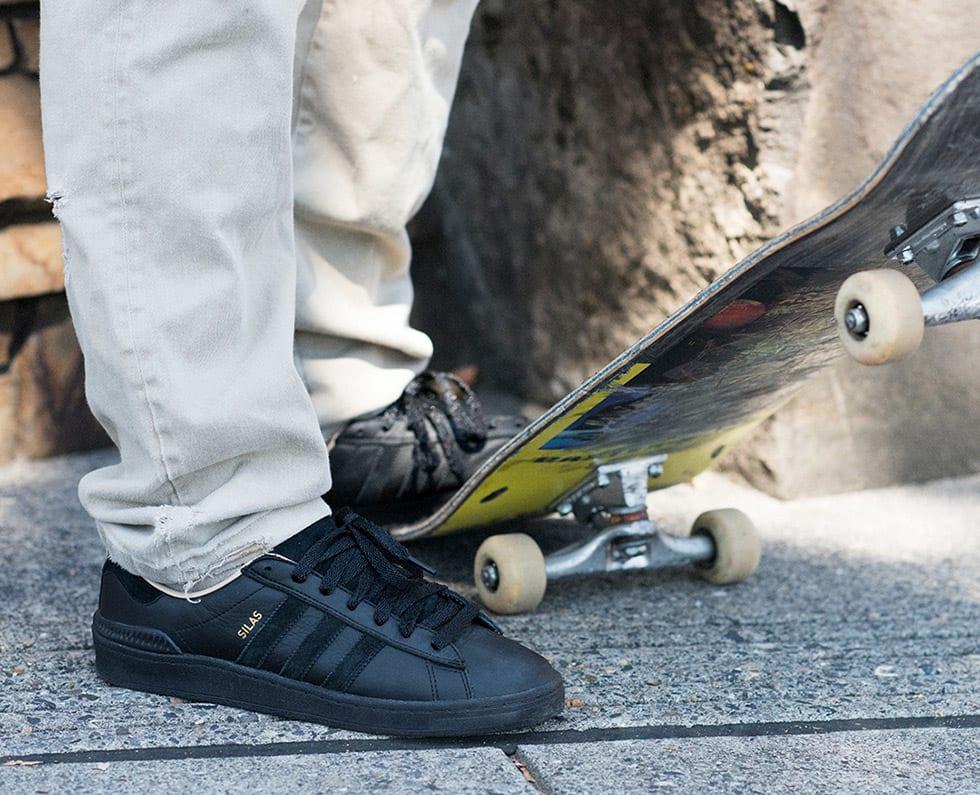 2. adidas Skateboarding Silas Baxter Neal Campus ADV skateboard shoe