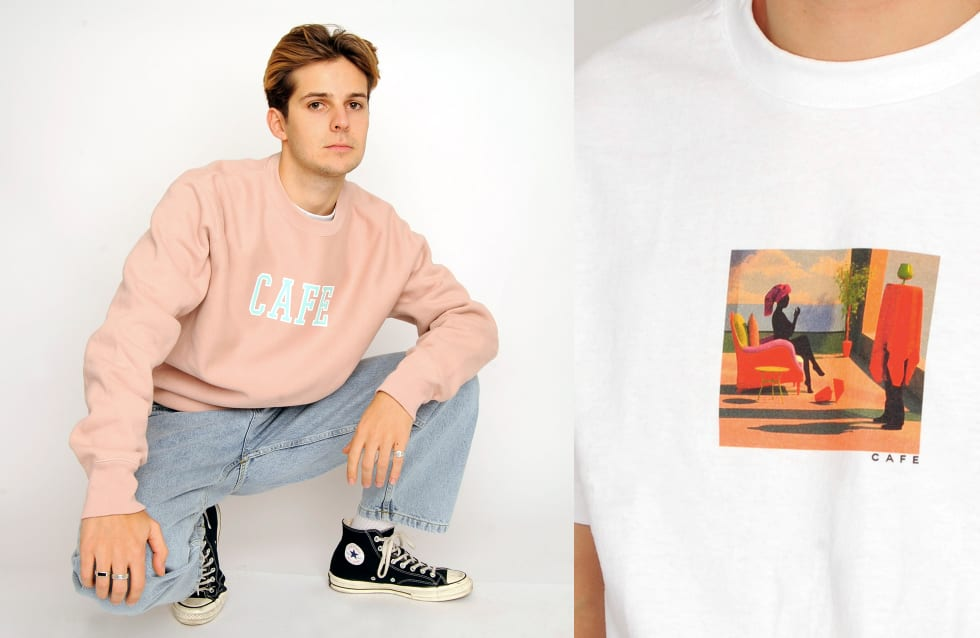 1. Skateboard Cafe Winter Collection