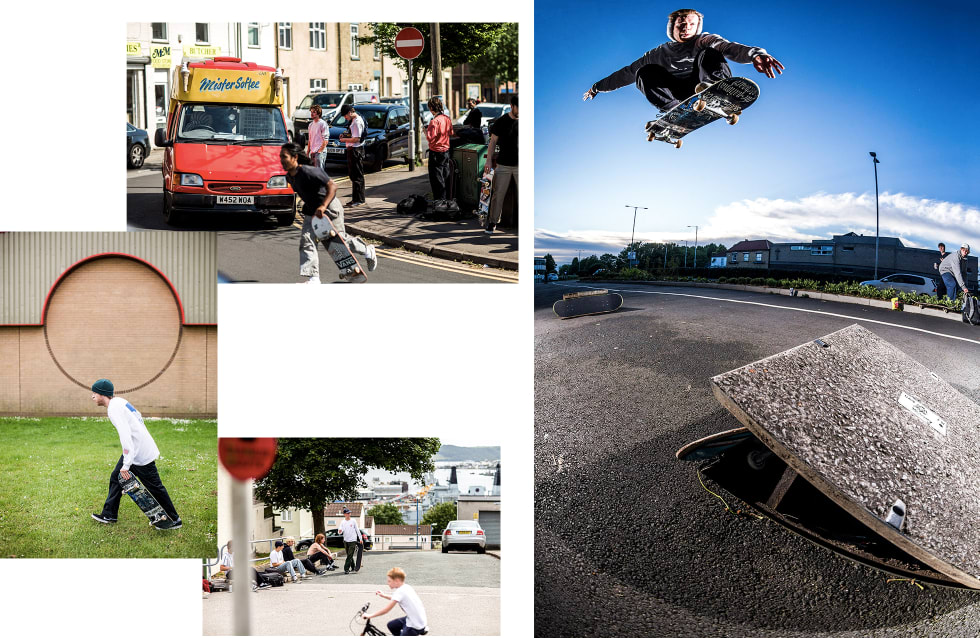 2. The National Skateboard Co. interview. Michal Juras Ollie from Drain To Drain. Photo Reece Leung.