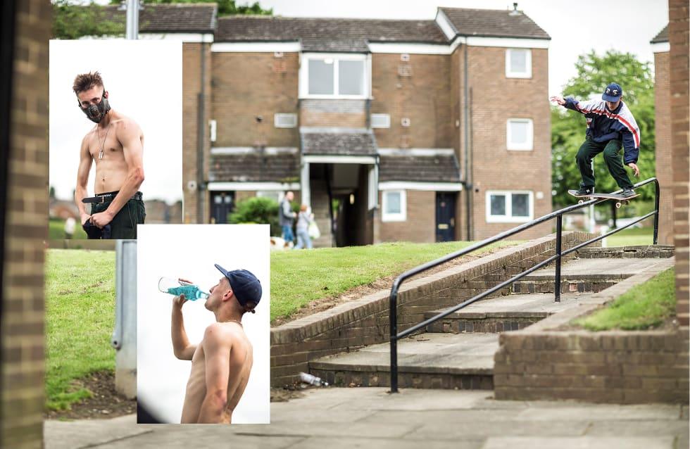 3. The National Skateboard Co. interview. Cam Barr Backside Boardslide, Leeds. Photo Reece Leung.