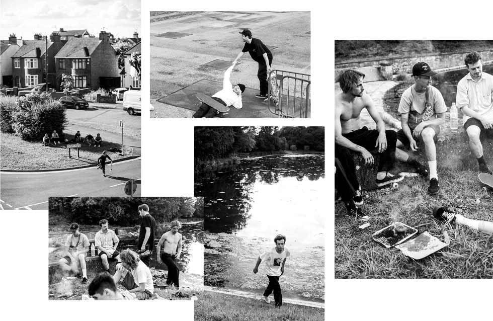 4. The National Skateboard Co. interview. Team photos Reece Leung. National skateboard decks and clothing.