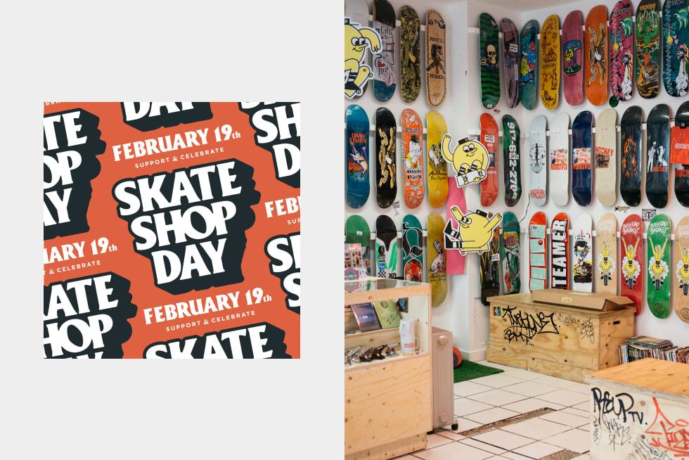 Presenting Skate Shop Day
