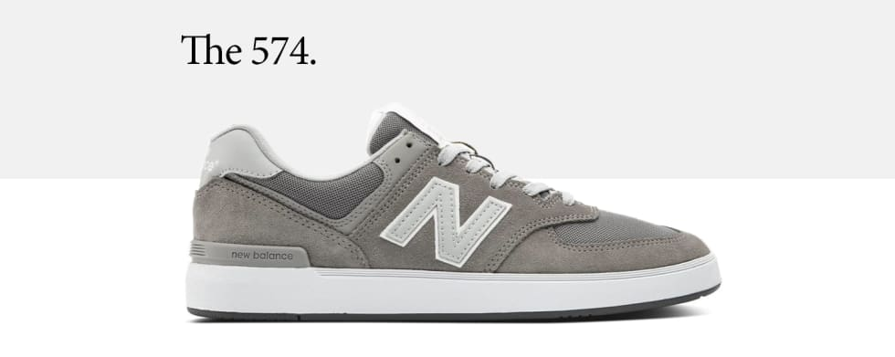 New Balance Numeric New Balance Numeric 440 Clay Grey//Black Shoe