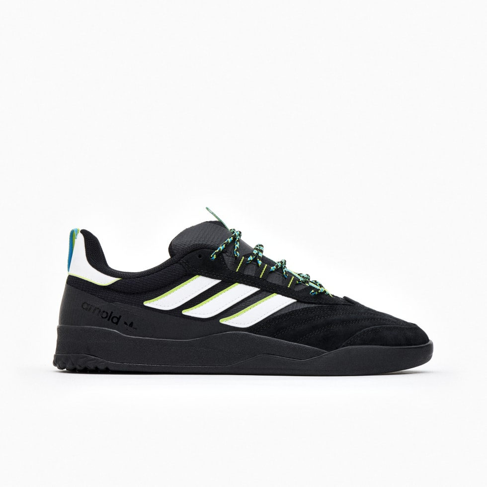 1. Mike Arnold's well deserved adidas shoe - the black copa nationale.