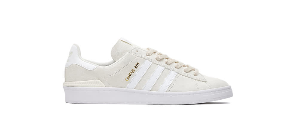 White Shoes adidas Campus ADV