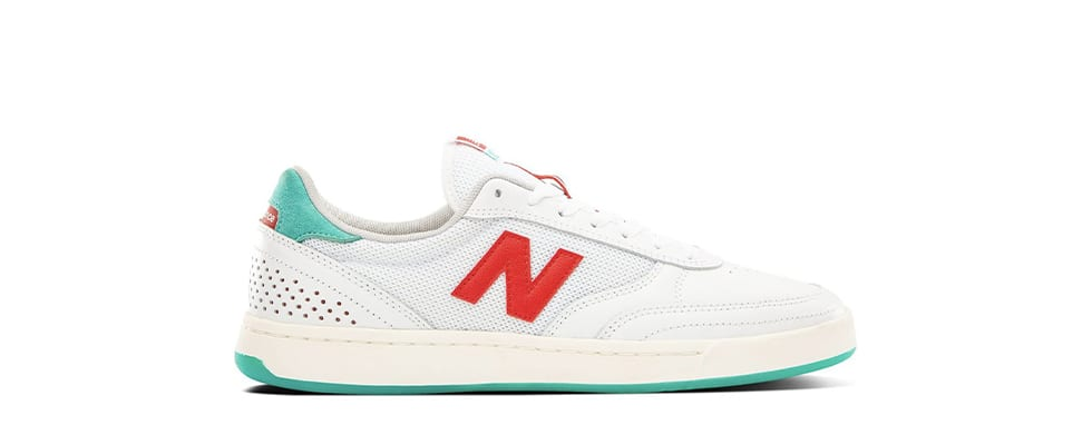 White Shoes New Balance Numeric 440 Tom Knox