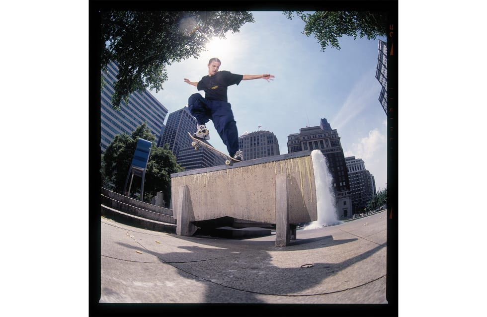 Josh Kalis interview about Love Park, DC Lynx and DC Shoes and team 2