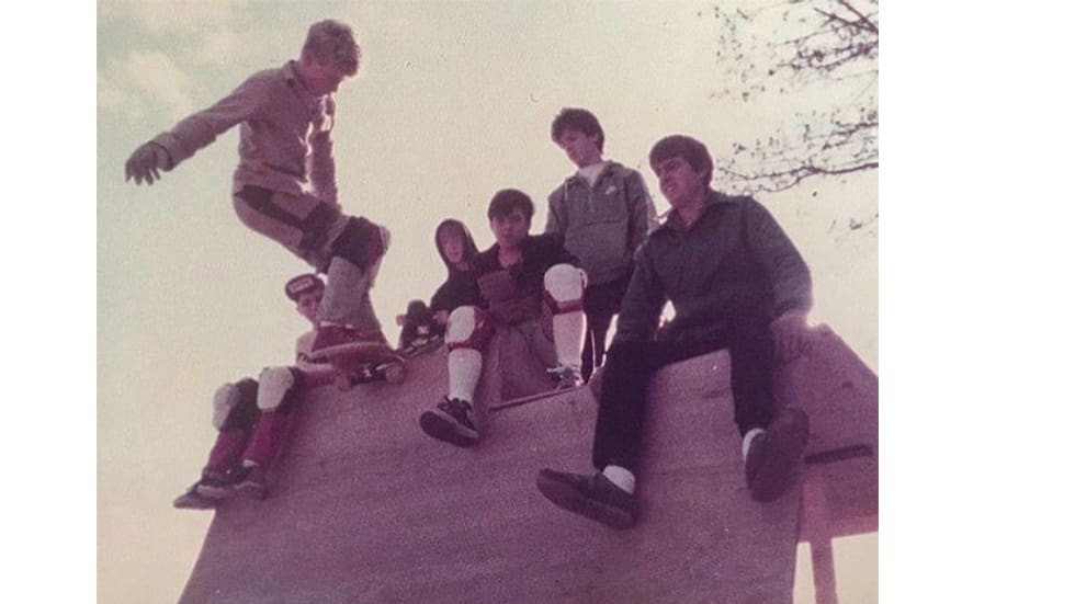 The Past Participle 4. Archive photographs from an army of unknown skateboarders form the 80s and 90s.