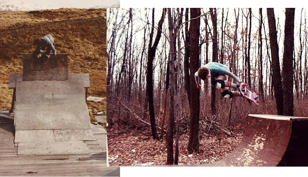 The Past Participle 3. Archive photographs from an army of unknown skateboarders form the 80s and 90s. (2)