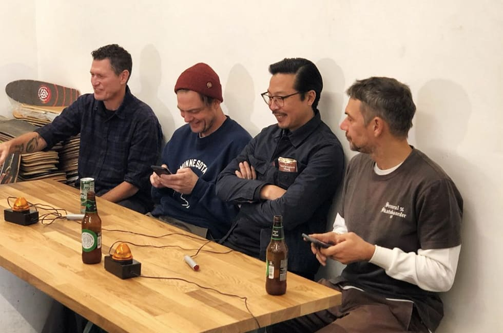 1. Useless Wooden Knowledge, the trivia night started by Daniel Shimizu, Clint Peterson, Justin Strubing and Andreas Trolf