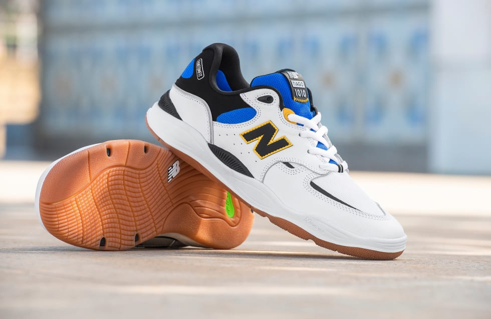 Tiago Lemos Pro Signature Skateboarding Shoe, the NB1010 from New Balance Numeric 1