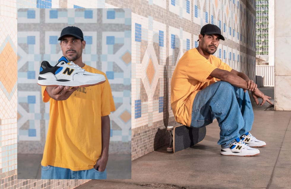 Tiago Lemos Pro Signature Skateboarding Shoe, the NB1010 from New Balance Numeric 11