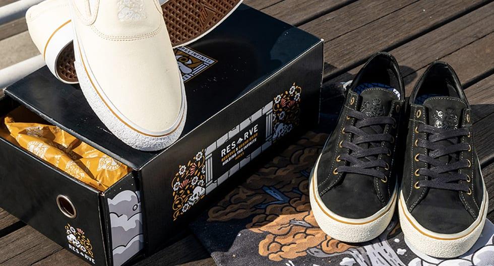 Emerica Reserve footwear presents Sasha Barr collection 2
