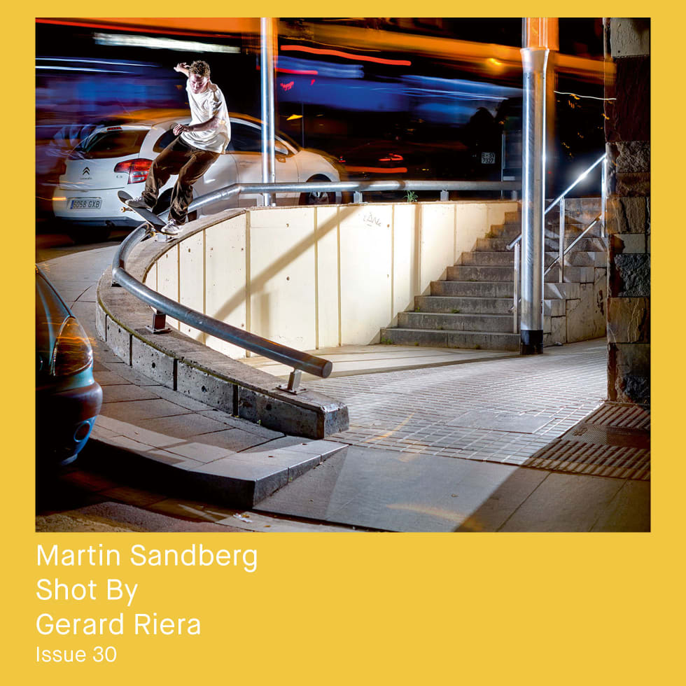 The Photography of Free Skateboard Magazine 13