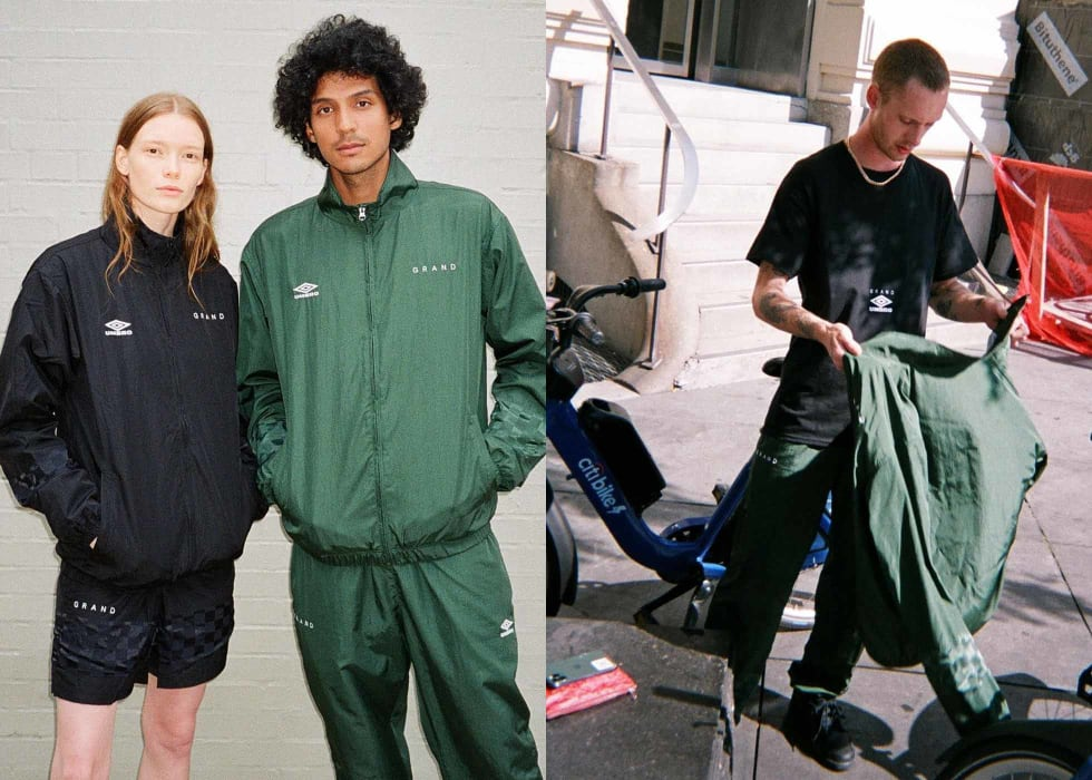 Grand Collection x Umbro Fall 2020 Collection 1