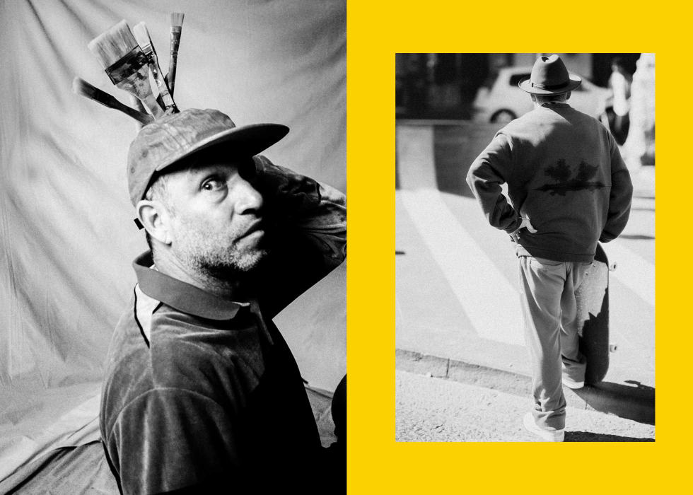 Mark Gonzales - The Freeform Telling of an Icon. Sem Rubio Mark Gonzales Rizzoli Book 1
