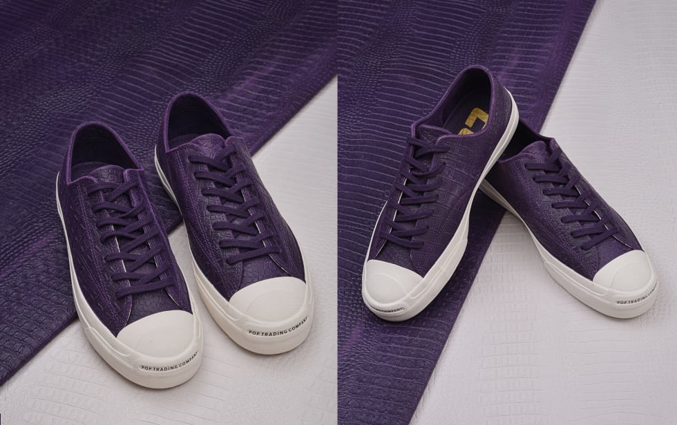 Pop Trading Company x Converse CONS Jack Purcell Pro Dragonskin Collaboration 1