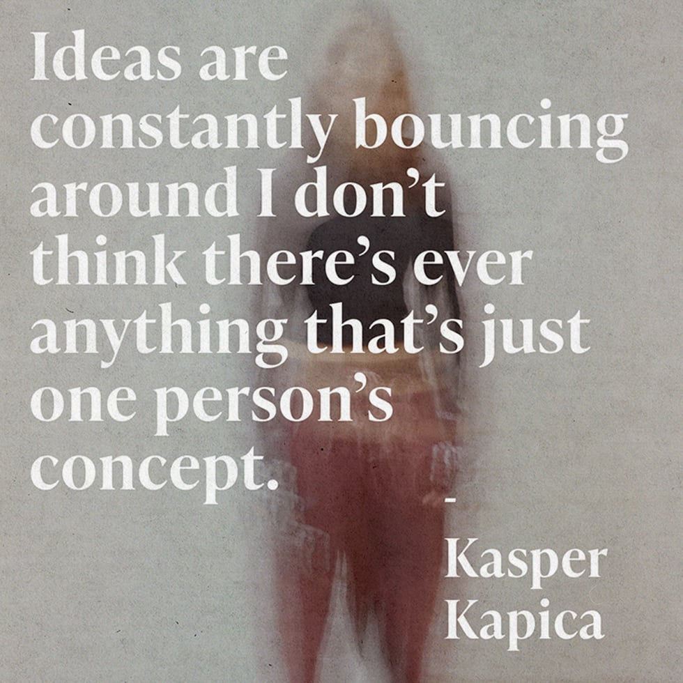 Aries Behind the Scenes - Kasper quote