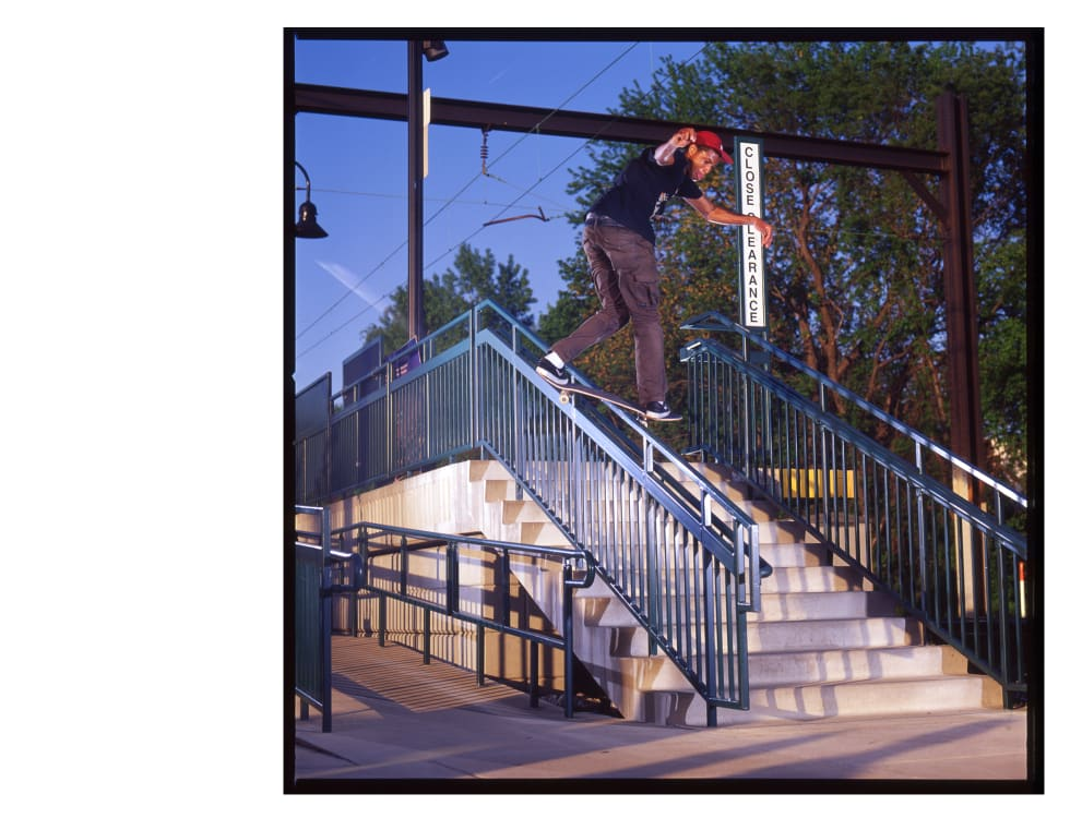 Ishod Wair Welcome to Parade bs rail