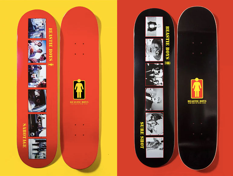 Girl Skateboards Beastie Boys