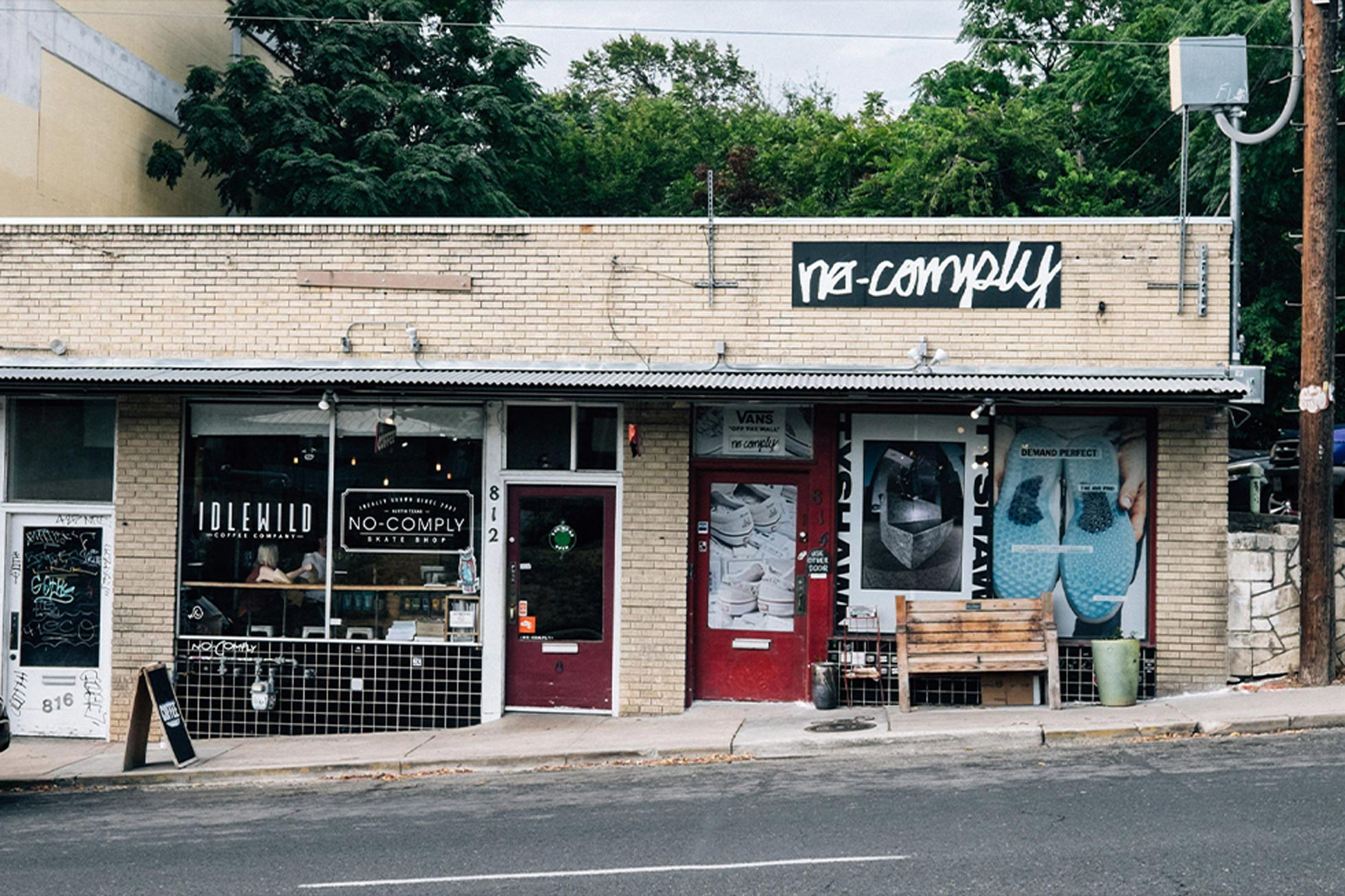No Comply and the Austin Skate Community