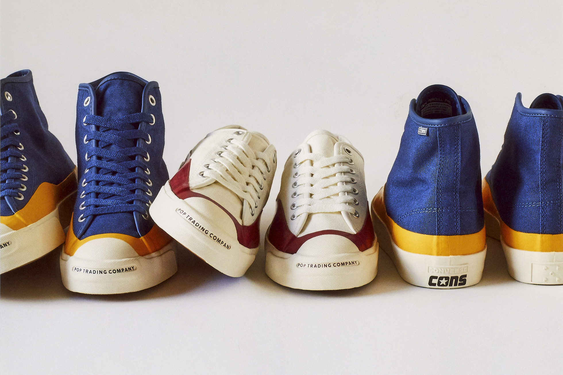 POP x Converse Collaborate for the Jack Purcell Hi & Ox