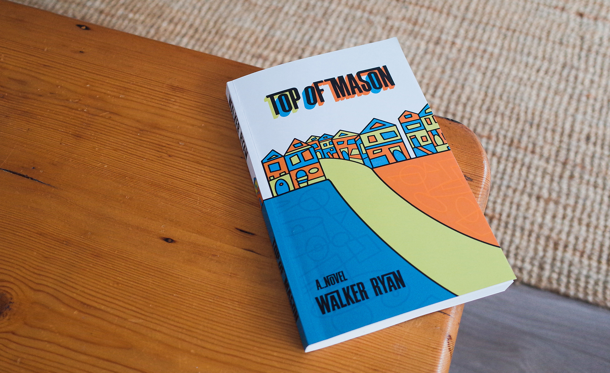 Walker Ryan Talks His First Novel: Top of Mason