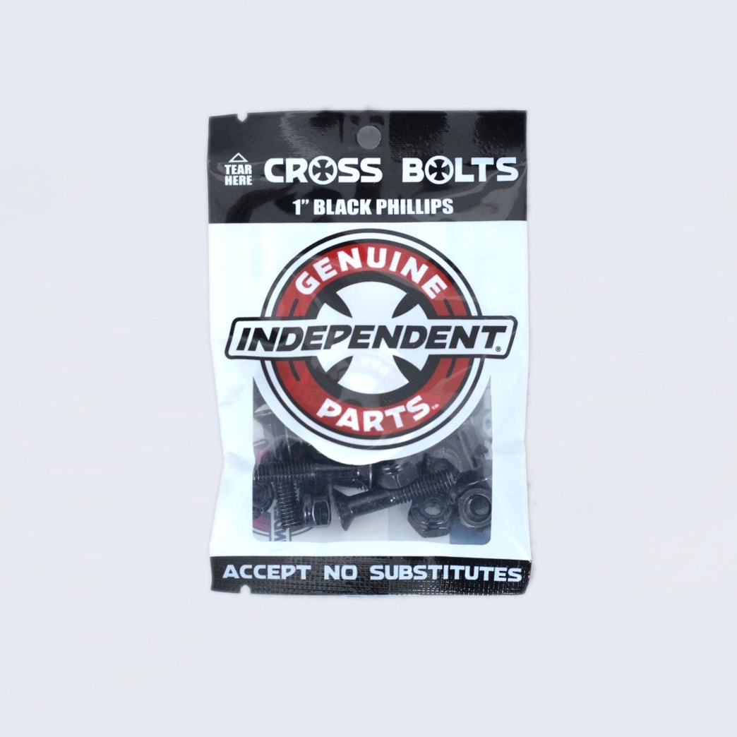 Independent 1 Phillips Bolts Black | Bolts by Independent Trucks 1