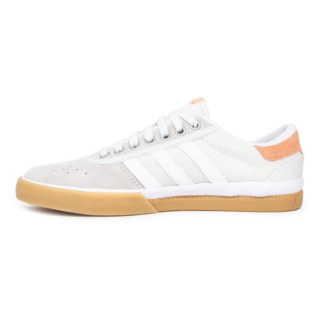Adidas Lucas Premiere Shoes - Crystal White/Sun Glow/Gum | Shoes by adidas Skateboarding 3