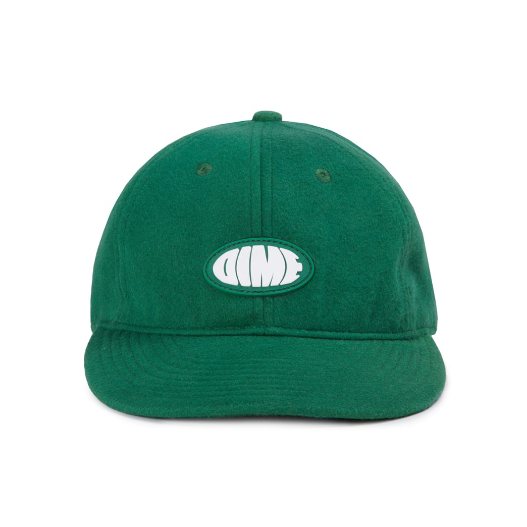 Dime Polar Fleece Cap - Green | Baseball Cap by Dime MTL 2