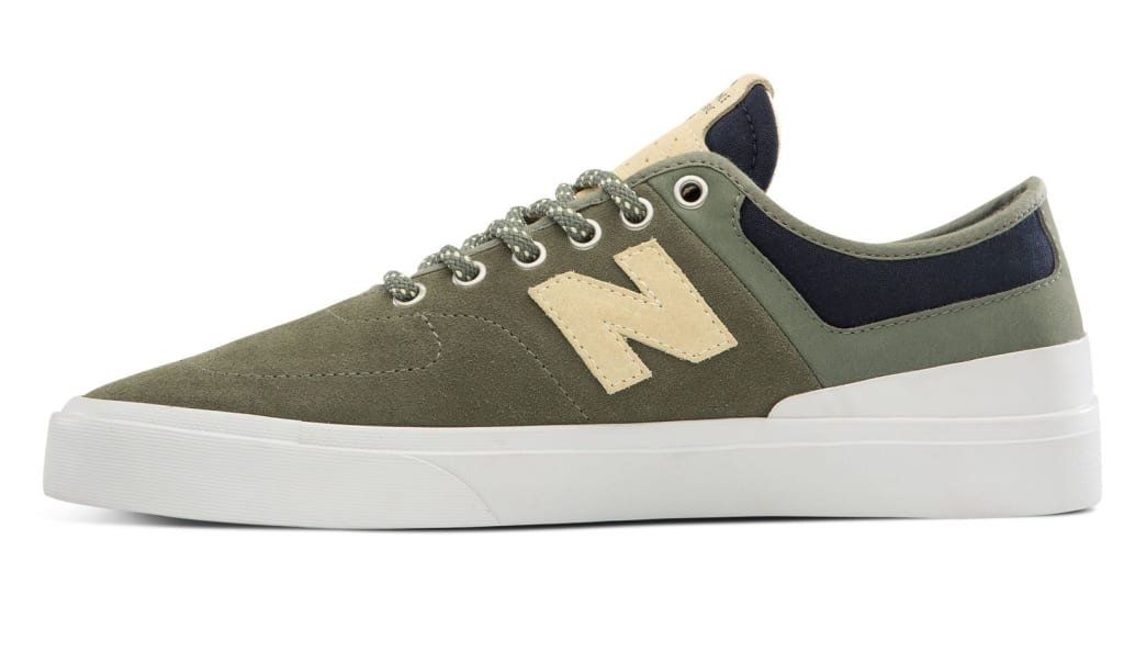 New Balance Numeric 379 Skate Shoe - Green / White | Shoes by New Balance 2