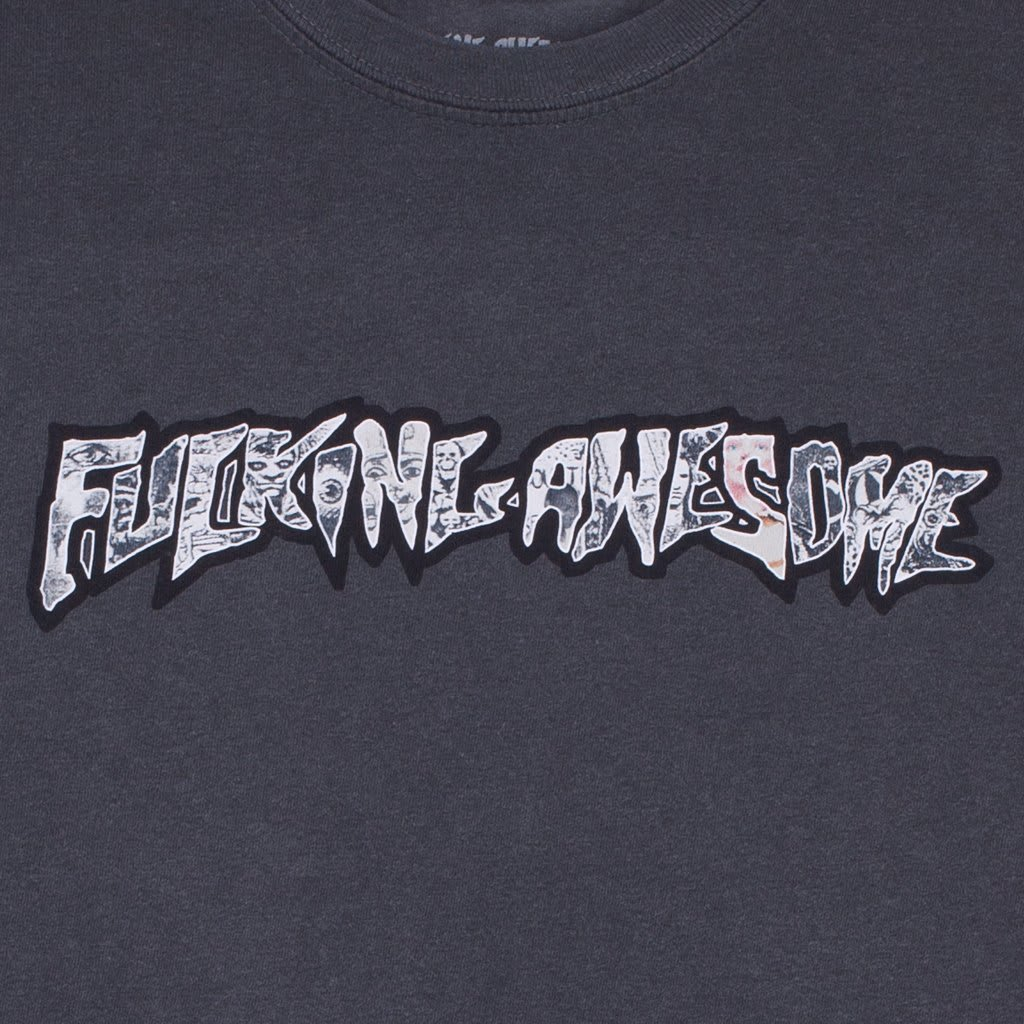 Fucking Awesome Actual Visual Guidance T-Shirt - Pigment Dyed Pepper | T-Shirt by Fucking Awesome 2