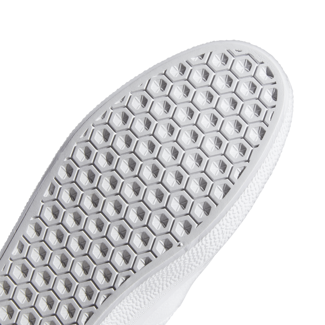 adidas 3MC Slip-On Skate Shoes - Cloud White / Cloud White / Core Black | Shoes by adidas Skateboarding 9